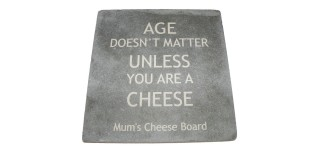 Age Doesn't Matter Personalised Cheeseboard