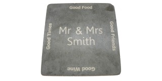 Good Friends Good Times Personalised Cheeseboard