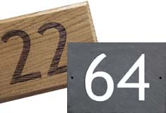 Ensure visitors and delivery drivers can find your house easily with a custom made house number plate