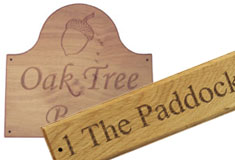 Bespoke Carved Wooden House Signs - Made Just for You >>>
